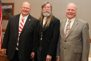Garfield County Commissioners Mike Samson, John Martin and Tom Jankovsky