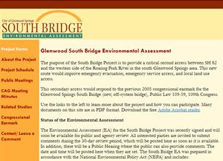 South Bridge project