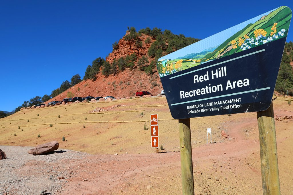 Red Hill recreation area officially reopened