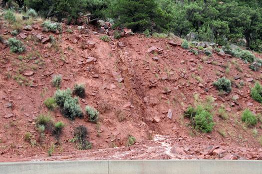 mudslide hwy CO 82