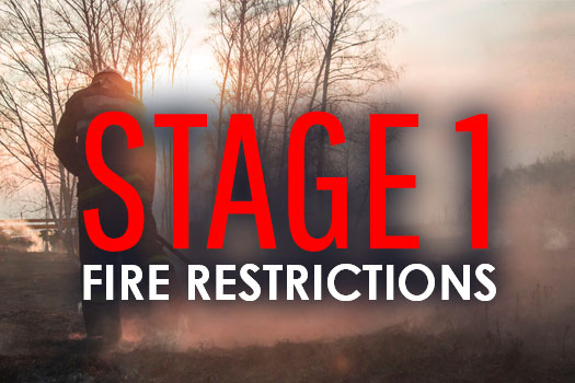 Stage I fire restrictions in effect
