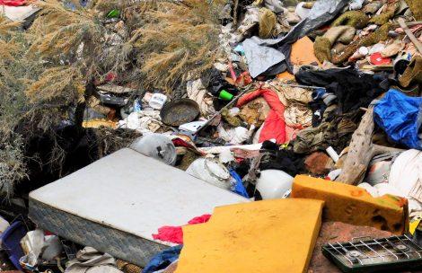 Trash on the ground in Glenwood Springs