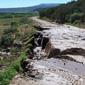 County Road 320 mitigation work 1