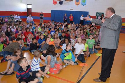 Bea Underwood Elementary wins Bike & Walk to School Challenge