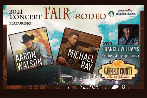 Three acts highlight 2021 Garfield County Fair and Rodeo concert