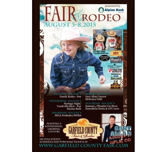 garfield county fair & rodeo August 3-8, 2015