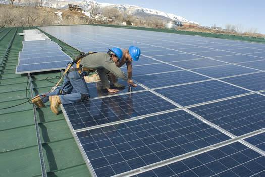Solar Panels in Garfield County