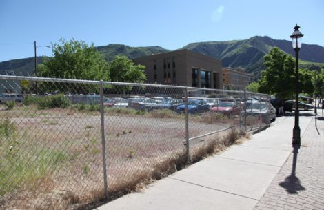 land for parking lot