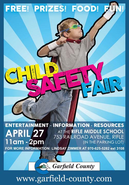 child safety fair ad