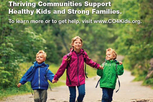 thriving communities support healthy kids and strong families
