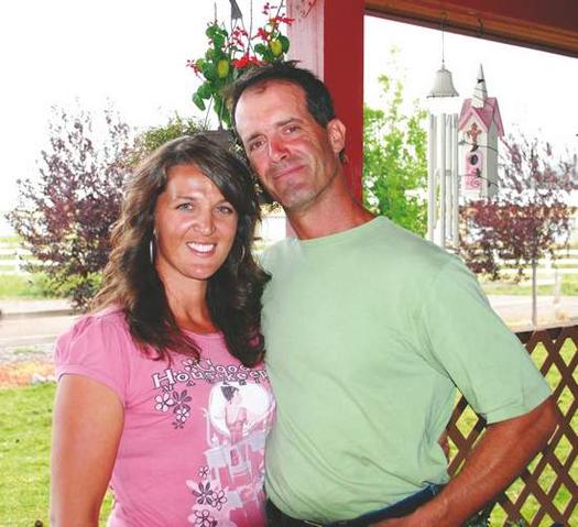 Stephanie and Paul Straw