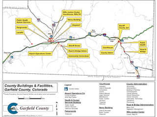 Garfield County facility map
