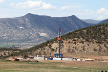 mamm creek oil well