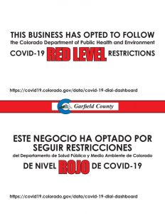 RED LEVEL OPTION
