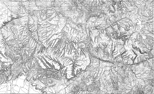 Hayden Survey of 1877 map