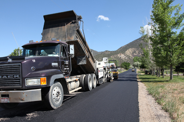 paving operations