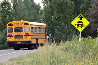 new school bus signage