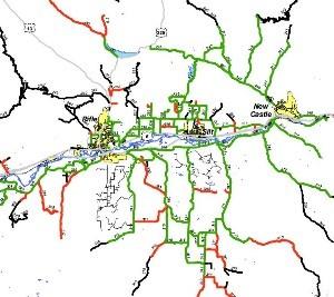 plow routes