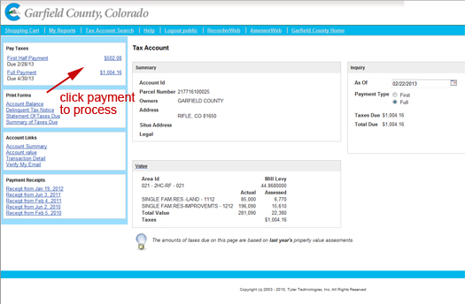 payment amount